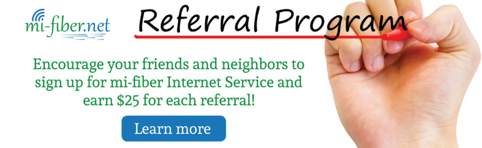 Customer Referral Slider